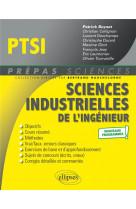 Sciences industrielles de l-ingenieur ptsi - nouveaux programmes