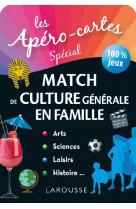Apero-cartes culture generale - le match 100% famille