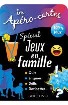 Apero-cartes special jeux en famille