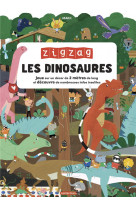 Zig zag dinosaures