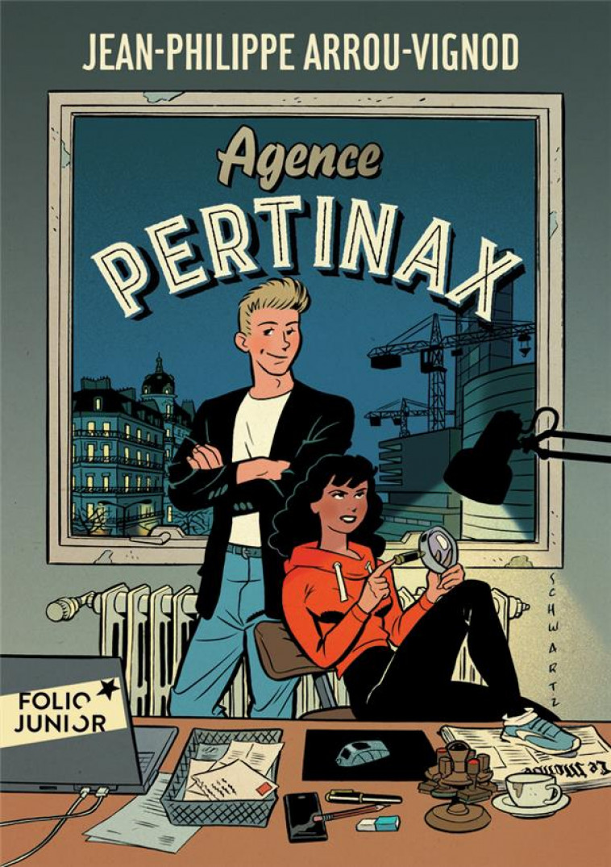 AGENCE PERTINAX - FILATURES EN TOUT GENRE - ARROU-VIGNOD - GALLIMARD